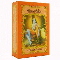 HENNA Cobre Natural en polvo 100 g Radhe Shyam