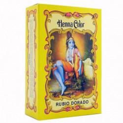 HENNA Rubio Dorado en polvo 100 g Radhe Shyam