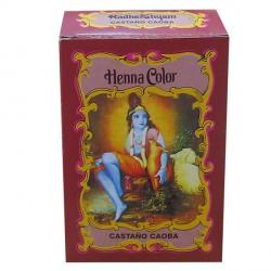 HENNA Castaño Caoba 100 g Radhe Shyam