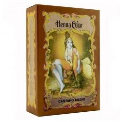 HENNA Castaño Medio 100 g Radhe Shyam