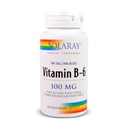 B complex 50 (vitaminas grupo B) 50 cap. SOLARAY