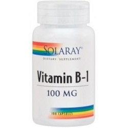 Vitamina B6 100mg 60 cap. SOLARAY