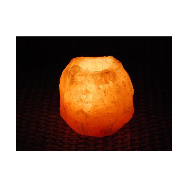 Lámpara de selenita