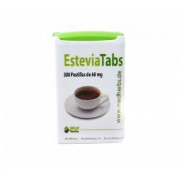 Estevia Tabs 300 pastillas de 60 mg Med Herbs