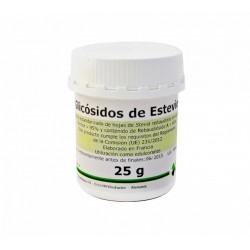 Estevia (Glicósidos de Esteviol) en polvo 25 g Med Herbs