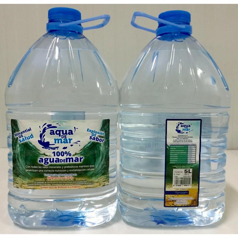 Agua de mar pura 2 litros Aqua de Mar
