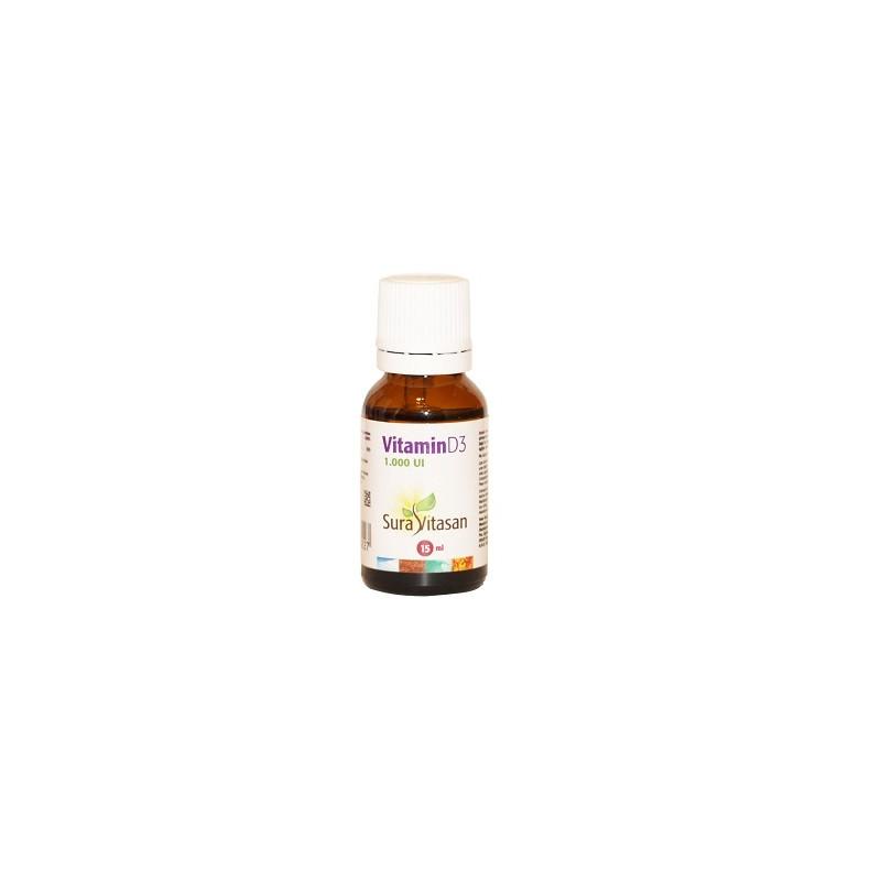 Vitamina D3 15 ml Sura Vitasan