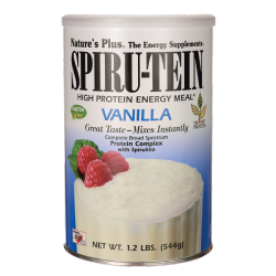 Spirutein batido de proteínas vainilla vegan 544g Nature's plus