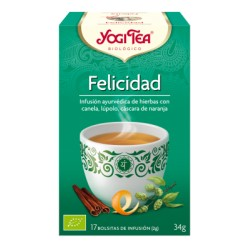 Yogi tea Felicidad Bio 17 Bolsitas