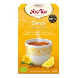 Yogi tea Detox con limón Bio 17 Bolsitas