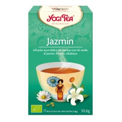 Yogi tea Té verde Jazmín BIO 17 bolsitas