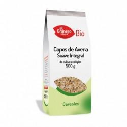 Copos de avena suaves bio 500 g El granero Integral