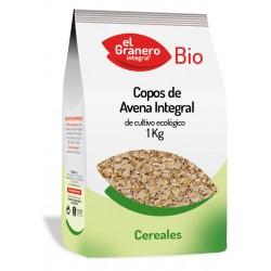 Copos de avena bio 1 kg El granero Integral