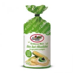 TORTITAS DE MAIZ SIN SAL 120 G EL GRANERO