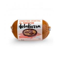 Salchicha Vegana Braseada 200gr Delatierra