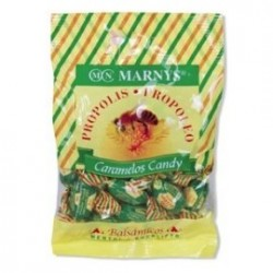 Caramelos de propoleo con miel, mentol y eucalipto 60 g MARNYS