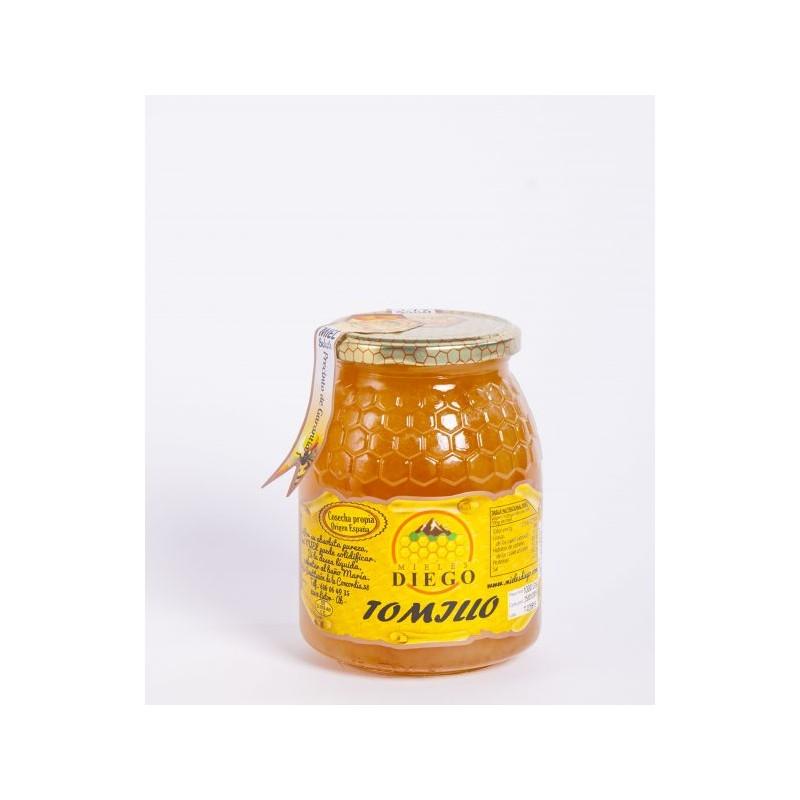 Miel de Tomillo 500 g Mieles Diego
