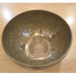 Cuenco tibetano 9 metales 1100 g
