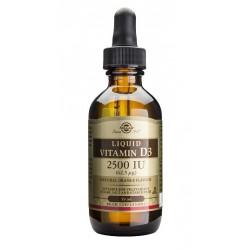 Vitamina D3 Líquida 2500 UI (62,5 μg) Solgar