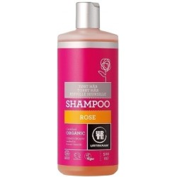 Champú rosa cabello normal 500ml Urtekram