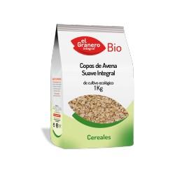 Copos de avena suaves bio 1 kg El granero Integral