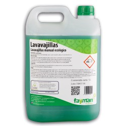 LAVAVAJILLAS ECOLABEL 750ML FAYMAN ECOLOGIC