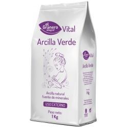 Arcilla Verde 1 kilo El Granero Integral