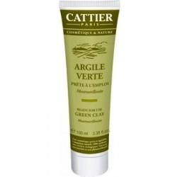 Arcilla Verde lista para usar 100g Cattier