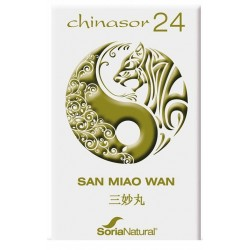 Chinasor 24 san miao wan 30 comp. Soria Natural