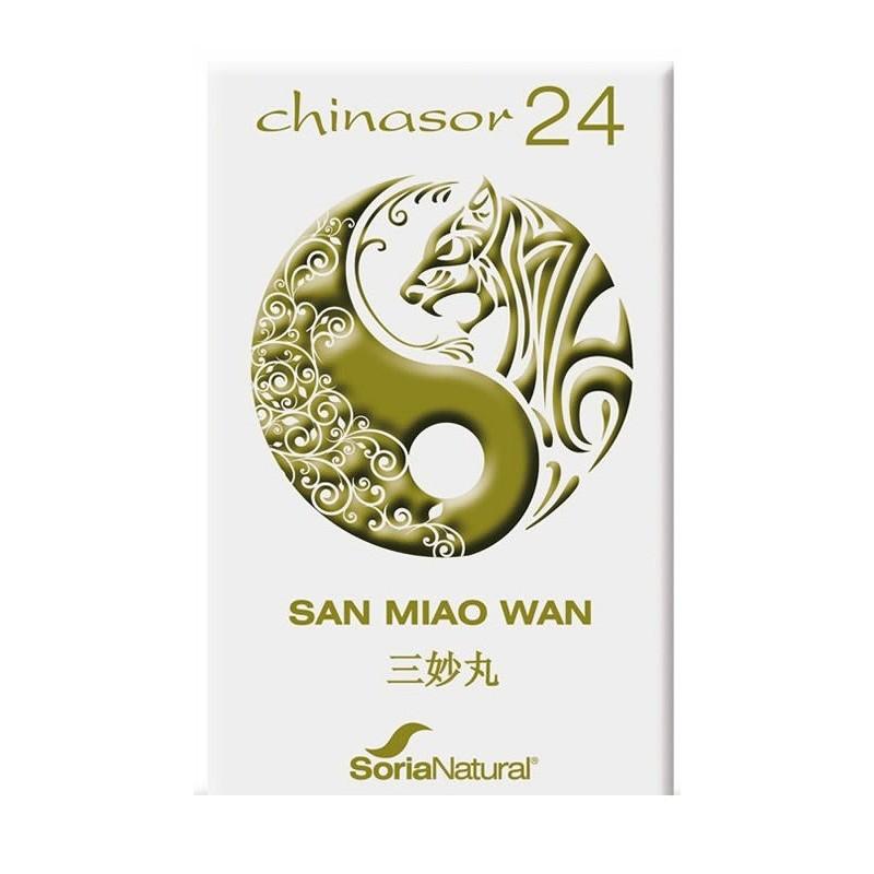 Chinasor 24 san miao wan 30 comp. Soria Natural