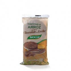 TORTITAS ARROZ CHOCOLATE CON LECHE 100GR BIOCOP