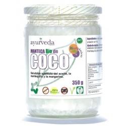 MANTECA DE COCO BIO 350GR AYURVEDA