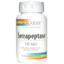 Serrapeptase 90 cápsulas SOLARAY