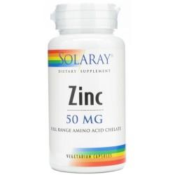 Zinc 50 mg 60 cap Solaray