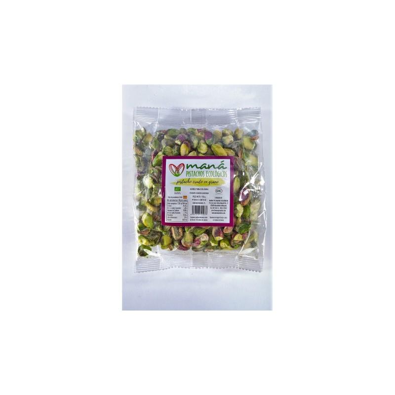 Pistacho ecologico en grano crudo 150 g Maná
