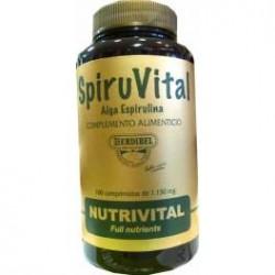 Espirulina spiruvital 100 comp. Herdibel