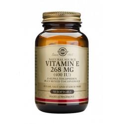 Vitamina E 400 UI 268 mg, 100 cáp. Solgar