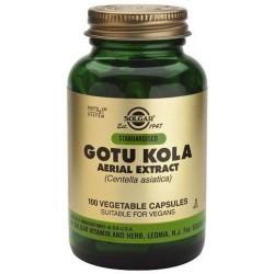 Gotu kola (Centella asiática) extracto Aéreo 60 Cáp. veg. Solgar