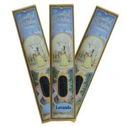 Incienso Lavanda 12 sticks scented garden Rhade Shyam