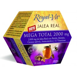 JALEA REAL ROYAL VIT MEGA TOTAL 2000mg 20amp DIETISA