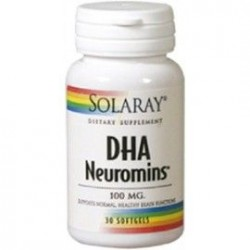 DHA NEUROMINS 30CAP 100MG SOLARAY