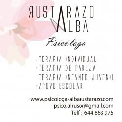 Consulta de Psicología con Alba Rustarazo