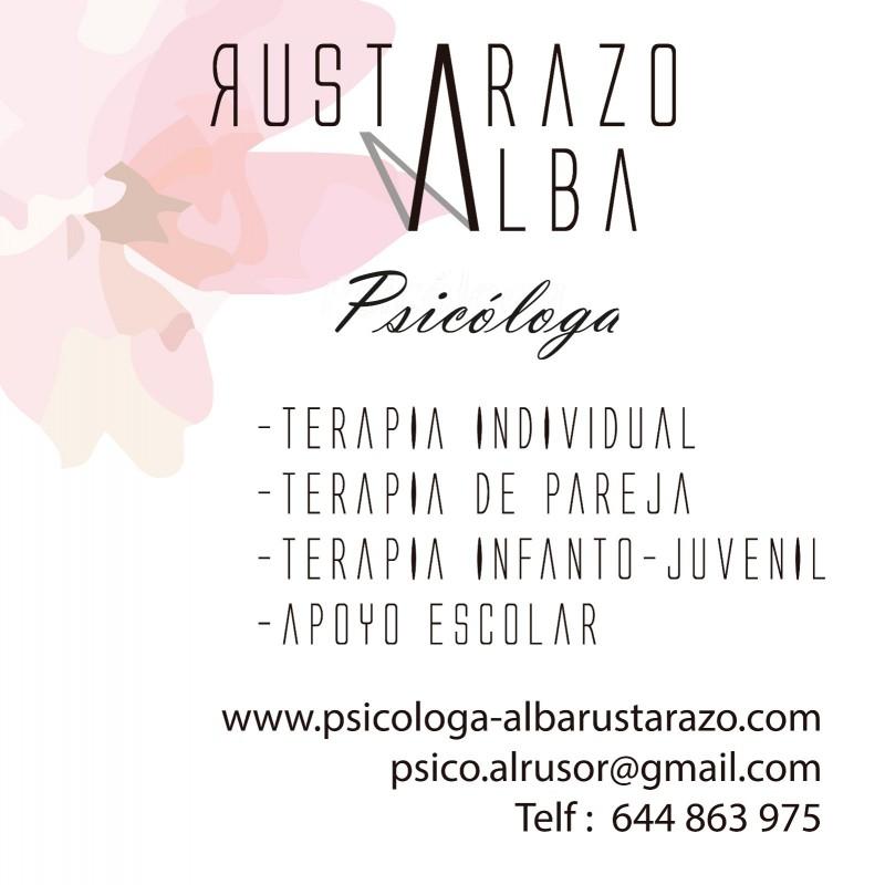 Consulta de Psicología Alba Rustarazo