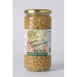 Garbanzo cocido BIO 450g CAL VALLS