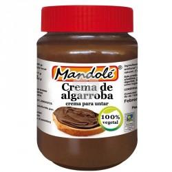Crema de algarroba para untar bio 275g Mandolé