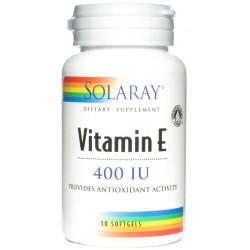 Vitamina E 50 perlas 400 UI Solaray