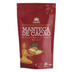 Manteca de cacao en pepitas BIO 125 gr Iswari