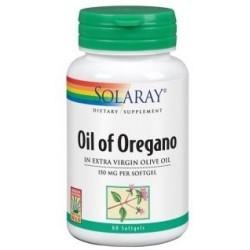 Aceite de Orégano 150mg 60 perlas Solaray