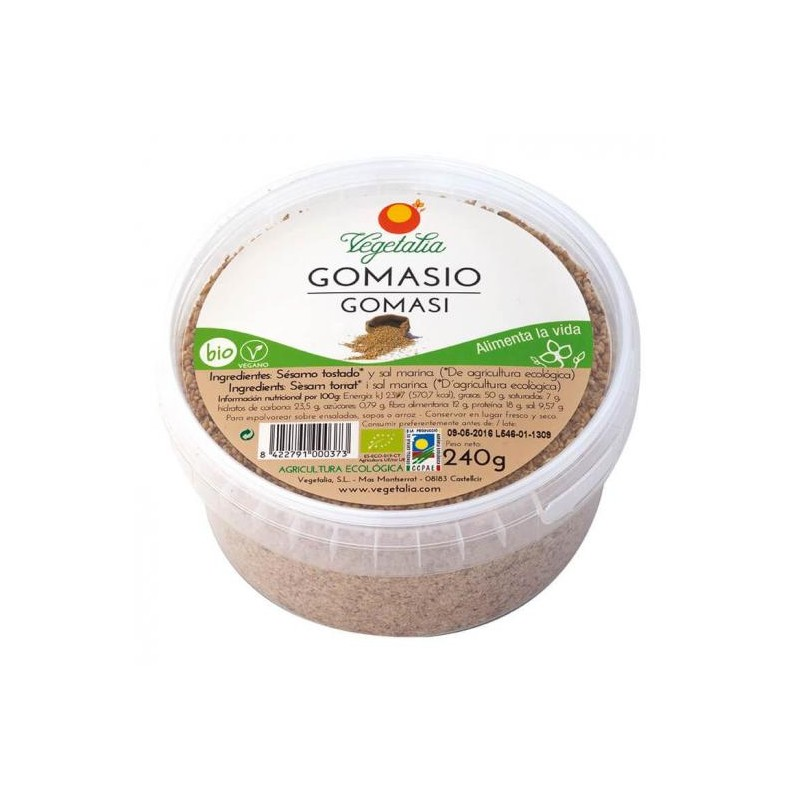 Gomasio BIO 120 g Vegetalia