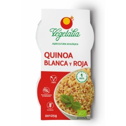 Quinoa roja y blanca 2uds x 125 g Vegetalia